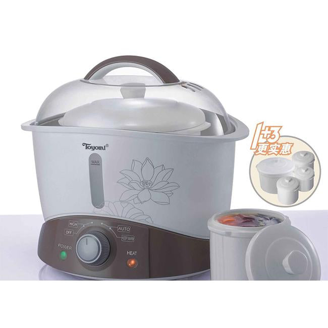 Toyomi 3.2L Double Boiler Cooker