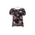 Enro Flare Sleeves Floral Blouse