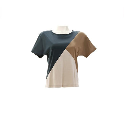 Shockwave Color Block Blouse