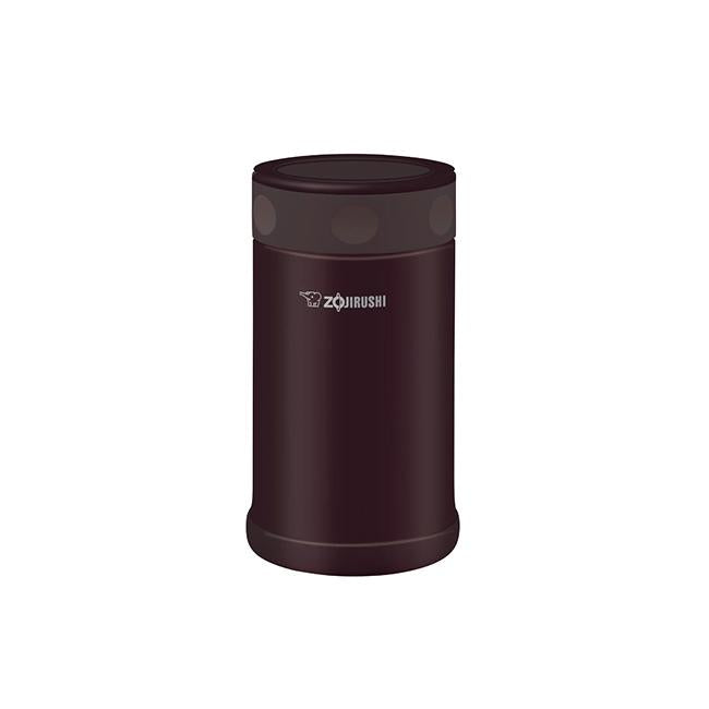 Zojirushi 0.75L Stainless Steel Food Jar - Dark Brown