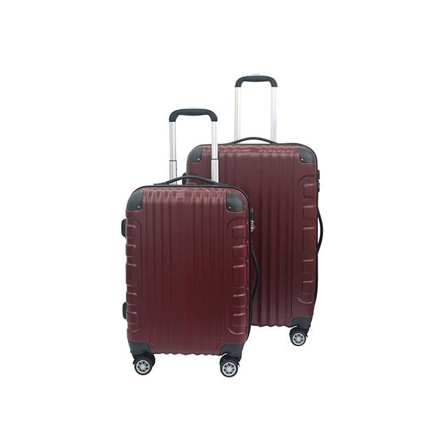 "Slazenger 20""+25"" Zipper Trolley Case - Maroon"