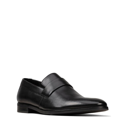 Clarks Stanford Free - Black Leather
