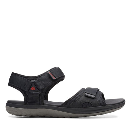 Clarks Step Beat Sun - Black Textile