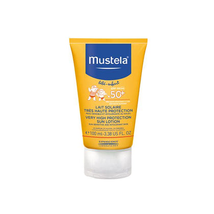 Mustela SPF50+ Very High Protection Sun Lotion 100ml