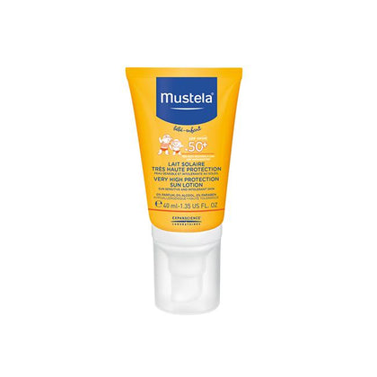 Mustela SPF50+ Very High Protection Sun Lotion 40ml