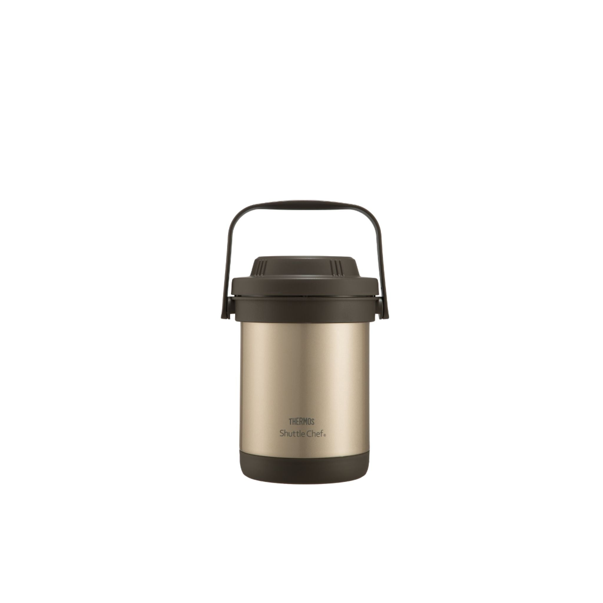 Thermos 1.8L Stainless Steel Vacuum Insulation Shuttle-chef - Gold