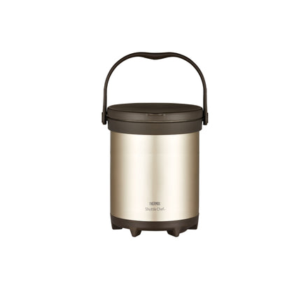 Thermos 6.0L Stainless Steel Vacuum Insulation Shuttle-chef - Gold