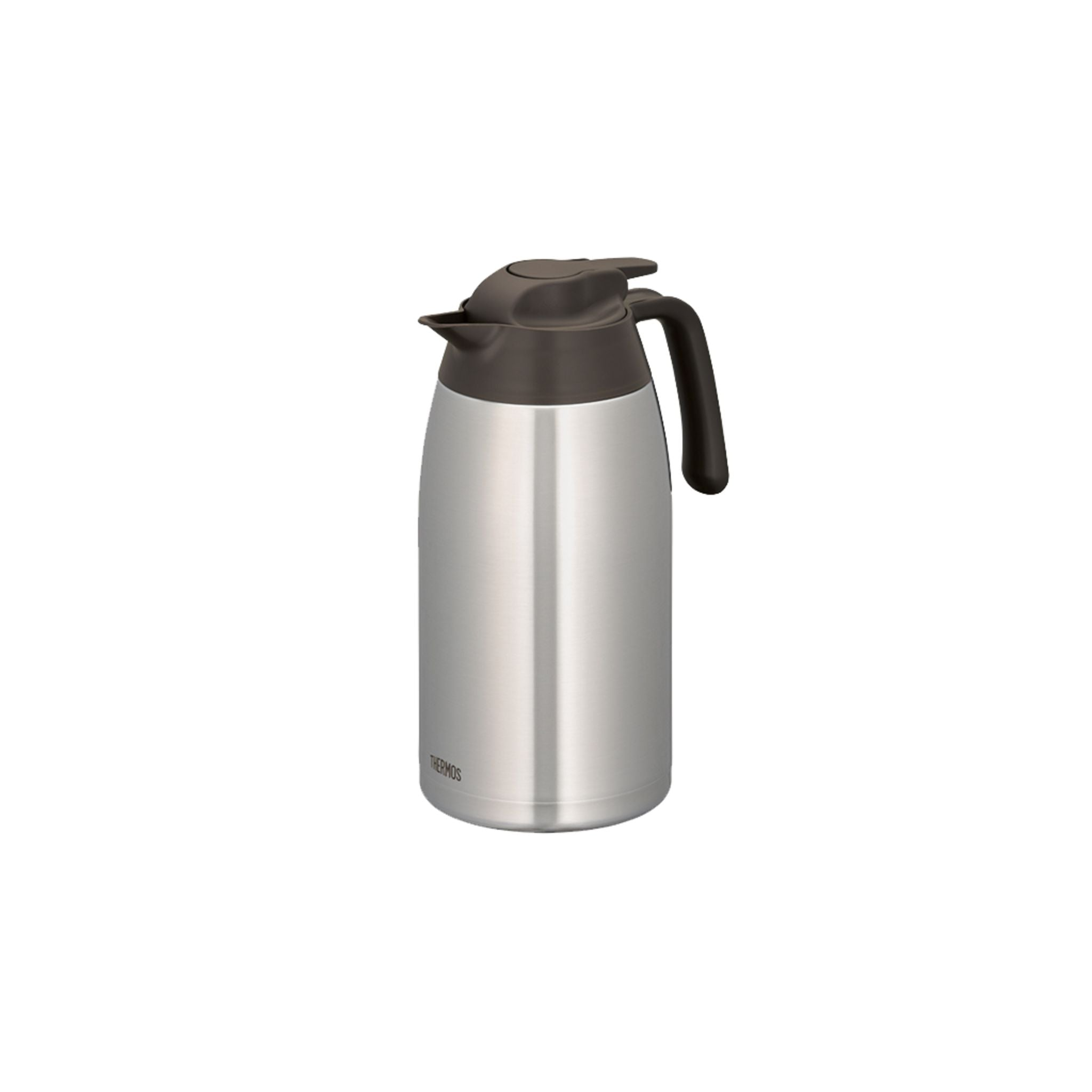 Thermos 2.0L Stainless Steel Vacuum Insulation Carafe - Stainless Brown