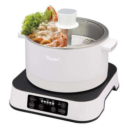 Toyomi Up and Down Smart 2.5L Steamboat / Healthy Rice Cooker