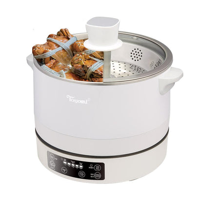 Toyomi Up and Down Smart 4L Steamboat / Healthy Rice Cooker