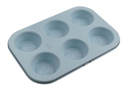 Tasty 6 cup Muffin Tin