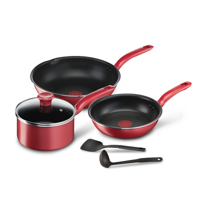 Tefal 6pc So Chef Cookware Set (Induction Compatible)