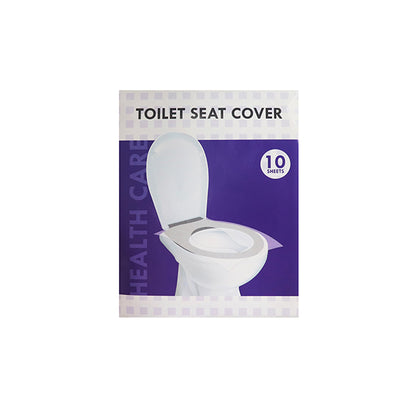 Health Care Toilet Seat Cover (10 Sheets)