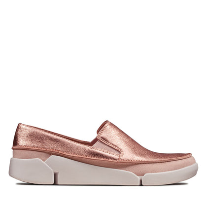 Clarks Tri Step Blush/ Rose Gold Combi
