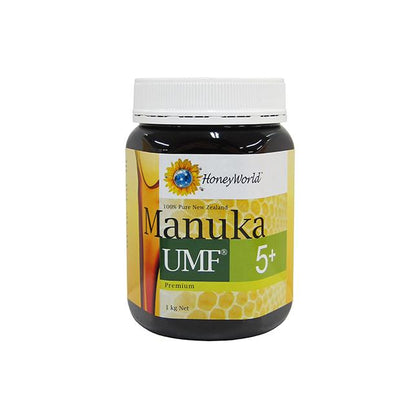 HoneyWorld Pemium Manuka UMF5+ 1kg