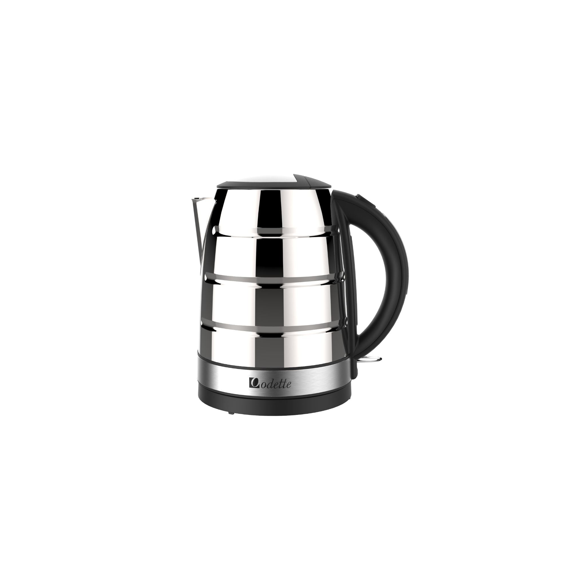 Odette Deauville 1.7L Stainless Steel Electric Kettle - Polished Stainless Steel