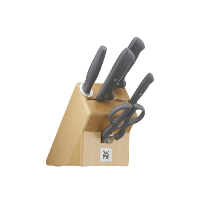 WMF Classic Line 6pc Knife Block Set