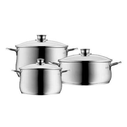 WMF Diadem Plus 3pc Cookware Set