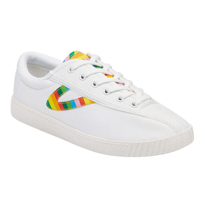 Tretorn Nylite28Plus (Women) - White/Rainbow