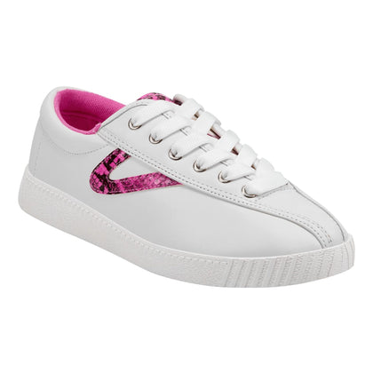 Tretorn Nylite39Plus (Women) - White/Pink