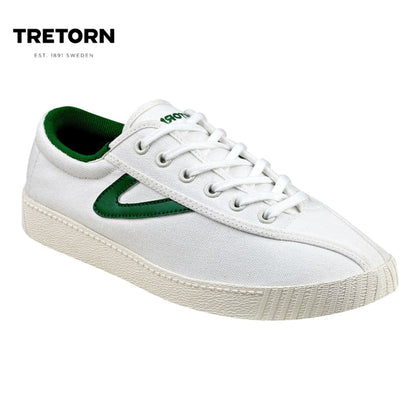 Tretorn Nylite Plus (Women) - Ivory/Green