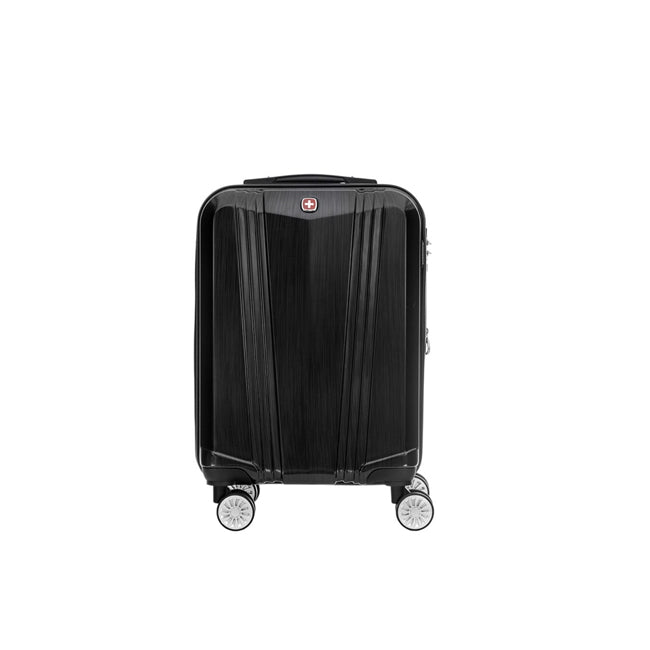 "Wenger ABS + PC 4 Double Wheel Expandable Trolley Case 19"" - Black"
