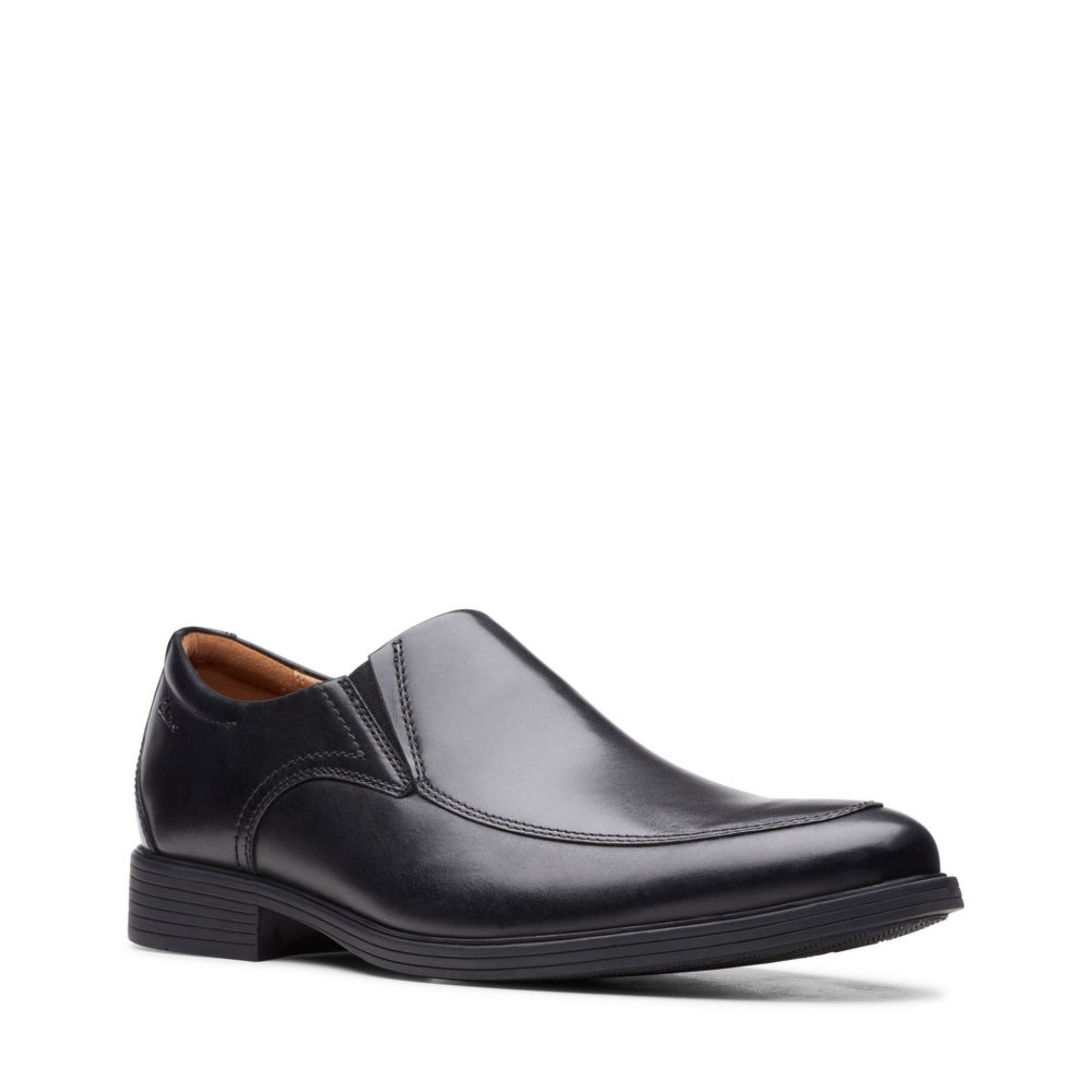 Clarks Whiddon Step - Black Leather