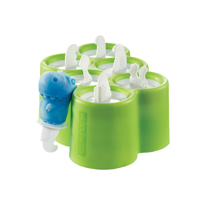 Zoku 6 Dino Pops Mold Ice Pop Maker