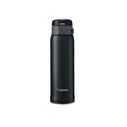 Zojirushi 0.6L Stainless Steel One-Push Vacuum Bottle - Slate Gray