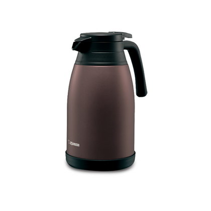 Zojirushi 1.5L Stainless Steel Handy Pot - Brown