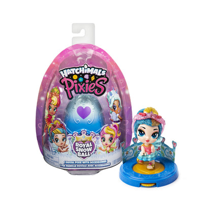 Hatchimals Pixies Royal Snow Ball
