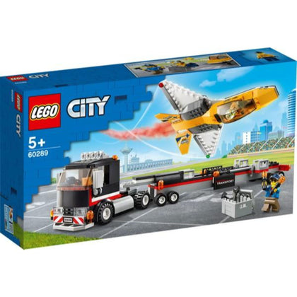 LEGO City Airshow Jet Transporter 60289