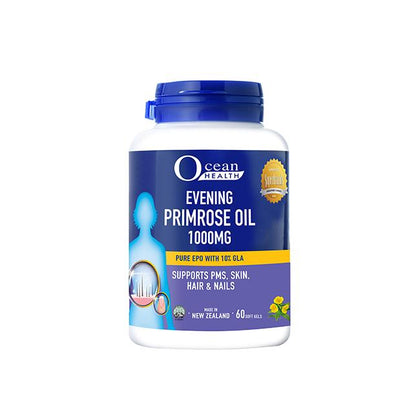 Ocean Health Evening Primrose Oil 1000mg 60s