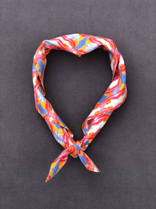 Neck Tie in Orange Sculpture - Nicholas For The People