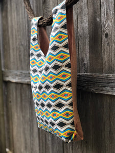 Market Bag in Zig Zag - Nicholas For The People