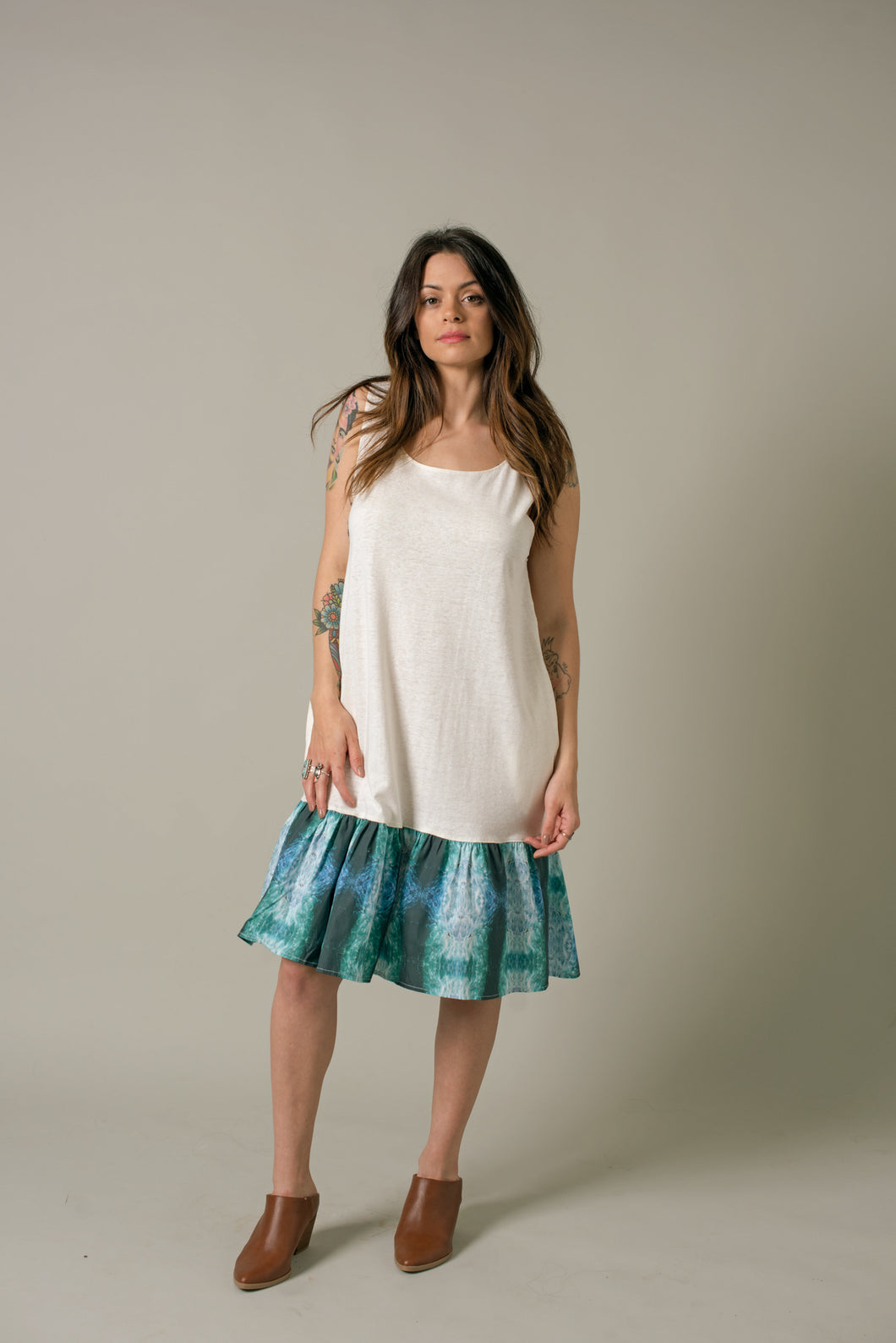 Short Dress in Mist - Nicholas For The People