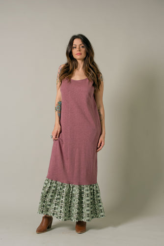 Long Dress in Plum - Nicholas For The People
