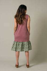 Short Dress in Plum - Nicholas For The People