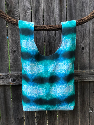 Market Bag in Ocean Wave - Nicholas For The People