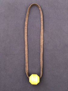 Vintage Necklace in Yellow - Nicholas For The People