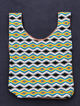 Load image into Gallery viewer, Market Bag in Zig Zag - Nicholas For The People
