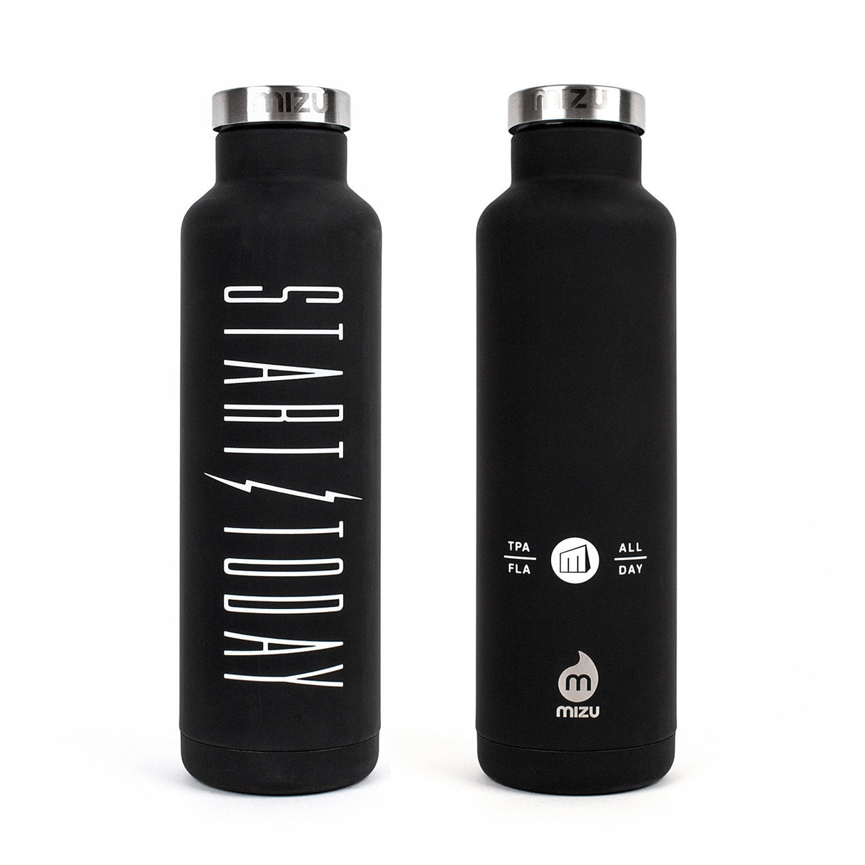 'Start Today' Water Bottle