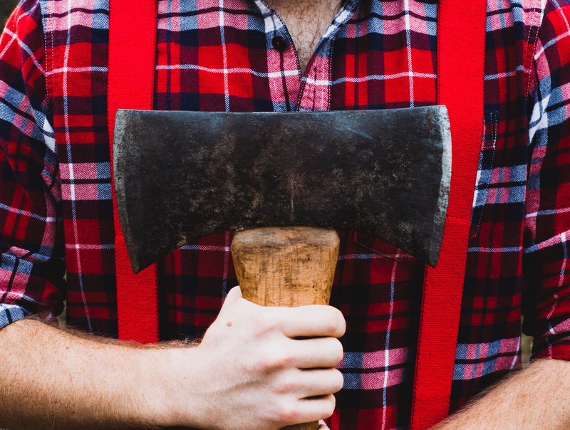 How to Throw Large Double Bit Axes