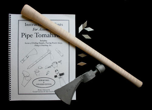 Custom Pipe Tomahawk Making Kit for Beginners