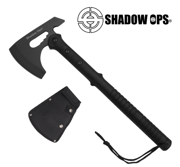 Shadow Ops Tactical Axe in Black