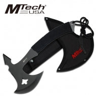 Mtech Tactical Hatchet is made of 440 stainless steel.