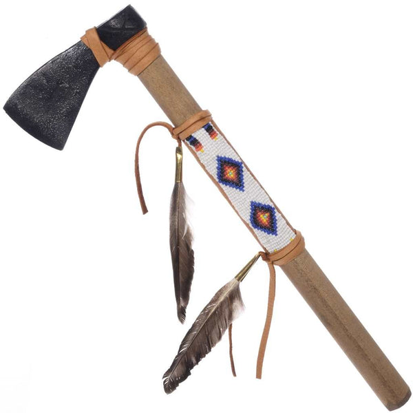 Native American Style Warrior Tomahawk - Plains Indian Bead