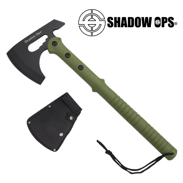 Shadow Ops Tactical Axe in Green