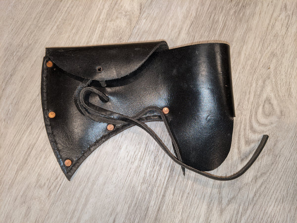 LIQUIDATION - Standard Leather Tomahawk Sheath