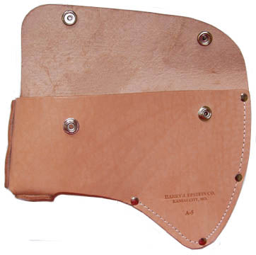 Durable Single Bit Axe Leather Sheath